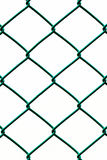 Green Fence isolated on White Background, Vertical pattern Royalty Free Stock Photo