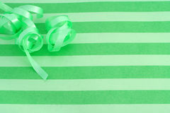 Green festive background Royalty Free Stock Photography