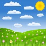 Green field royalty free illustration