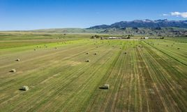 Green Ranch in American West Stock Images
