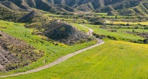 Green field Landscape, Cyprus Stock Photos