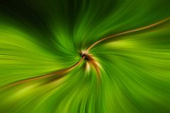 Green field of lines moving in space Stock Image
