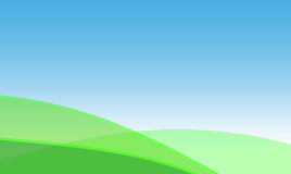 Green fields. Rural abstract background Royalty Free Stock Photo