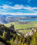 Green fields in Bavaria  in Germany Royalty Free Stock Photography