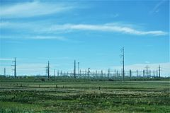 Transmission lines across the american heartland