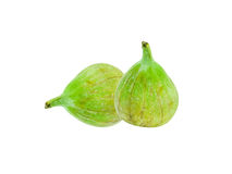 Green fig fruit Stock Photos