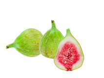 Green fig fruit Royalty Free Stock Photography