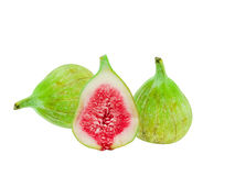 Green fig fruit Stock Photography