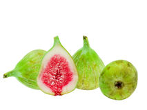 Green fig fruit Stock Image