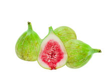 Green fig fruit Royalty Free Stock Images