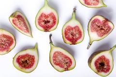 Green fig Royalty Free Stock Photos