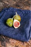 Green fig Royalty Free Stock Photo