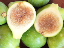 Green figs Stock Images