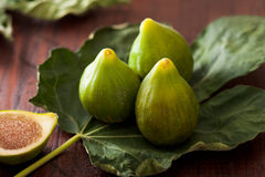 Green Figs, Fioroni Royalty Free Stock Images
