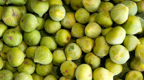 Green Figs in the market Royalty Free Stock Photo