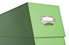 Green File Box Stock Photos
