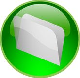 Green file button Stock Images