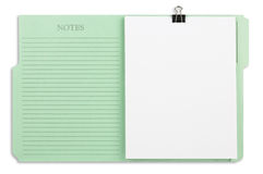 Green File Folder with Path Royalty Free Stock Photos
