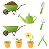 Green Fingers Stock Photos
