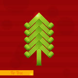 Green Fir Tree Royalty Free Stock Photography