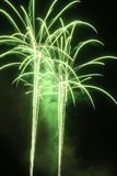 Green Fire Royalty Free Stock Photography