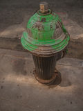 Green Fire Hydrant Stock Images
