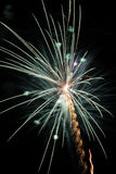 Green firework Stock Photo