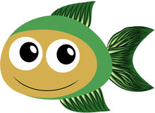 Green fish Royalty Free Stock Photos