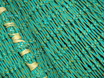 Green fishing net Stock Photography