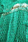 Green fishing net Royalty Free Stock Image