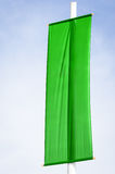 Green flag Royalty Free Stock Photography