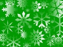 Green Flakes Royalty Free Stock Photos