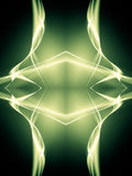 Green flame Royalty Free Stock Images