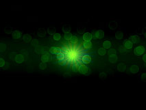 Green Flare Background Royalty Free Stock Images