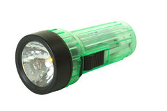 Green Flashlight Stock Images