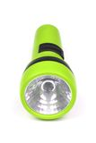 Green flashlight Royalty Free Stock Images