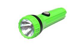 Green flashlight Royalty Free Stock Photography