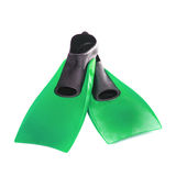 Green flippers Royalty Free Stock Image