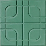 Green floor tile Royalty Free Stock Photos