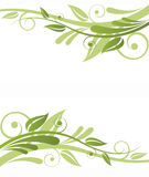 Green Flora Design Royalty Free Stock Photos