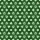 Green flora pattern design. Creative green flora pattern background Stock Images