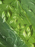 Green floral abstract background Royalty Free Stock Photos