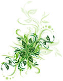 Green floral background Royalty Free Stock Photography