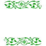 Green floral background Royalty Free Stock Photos