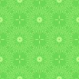 Green floral background. Seamless pattern with stylized flowers. Vector. Green floral background. Seamless pattern with stylized flowers. Repeating background Royalty Free Stock Photography