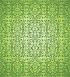 Green floral background vector Royalty Free Stock Images
