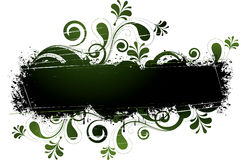 Green Floral Design Royalty Free Stock Images