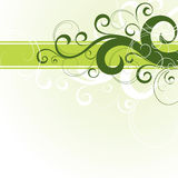 Green Floral Design Royalty Free Stock Photography