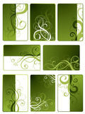 Green Floral Designs Royalty Free Stock Images