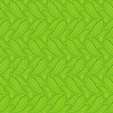 Green floral embossed seamless Royalty Free Stock Image